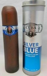 Cuba Silver Blue - pánská toaletní voda - 100 ml