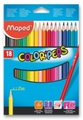 Pastelky Maped Color Peps 18ks