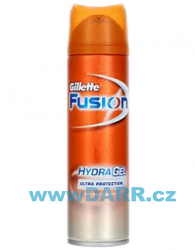 Gillette Fusion Hydra gel Ultra Protection na holení 200ml