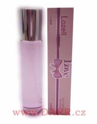 Lazell - Love růžová - parfémovaná voda dámská - EdP - 33 ml