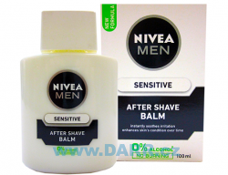 Nivea For Men Balsám po holení Sensitive 100 ml