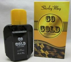 Shirley May - Go Gold - pánská toaletní voda- 50 ml