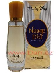 Shirley May-Nuage Dór- dámská toaletní voda - 50 ml